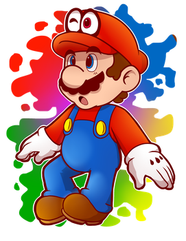 Mario style attempt by MarioCatBros123