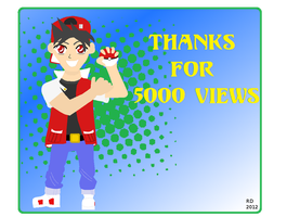 Thanks for 5000 veiws! by Jolt11