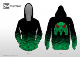 Digital Chaos Hoodie by DanH-Art