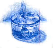 A cup of water by Bestary