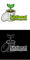 Fictional Waste Management Logo by SurnThing