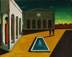 My Art is inspired also to : Giorgio-De-Chirico(2 by DorianoArt