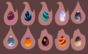 Wysp, Skimmer, and Terran Egg Adopts-SALE CLOSED by FuyusFox
