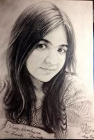 Portrait for my friend 20th birthday by pzs186