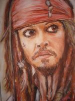 Captain Jack Sparrow by DirinXan