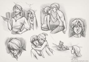 Sketchpage by Velnna