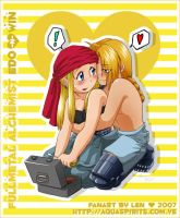 Chibi Cute II by Edward-x-Winry