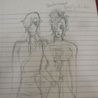Shelly and Libya by JackiWalker126