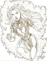 Dark Phoenix by Diarmuid