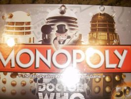 Doctor Who monoploy by Elizabeth1315