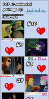 meme: favorite couples by Jaybird23