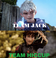 Team Jack or Team Hiccup by insyirah321