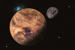 Pluto and  Charon by tsahel