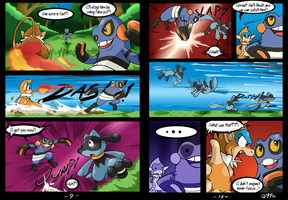 Riolu is Born - Page 9-10 by TamarinFrog