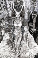 The Bride of Frankenstein by ElvinHernandez