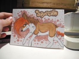guess what i got in the mail today by SushiiWolf