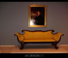Antique Sofa by LaVeuveNoire