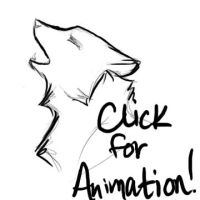 Wolf Howl Animation by earthsea-23