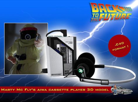 BTTF Marty Mc Fly's Aiwa walkman by staiff