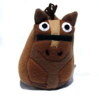 Stuffed Horse plush toy by ZodiacEclipse