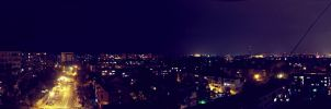 Galati at night by AlecsPS