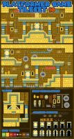Pyramid Game Tileset by pzUH