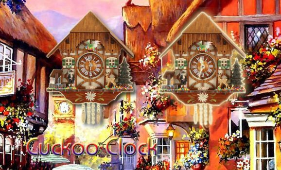 Cuckoo Clock For Avedesk by jeremy182001