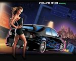 Volvo S40 car tuning wallpaper by Mariansita