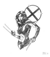 X-23 Con Sketch by DrewEdwardJohnson