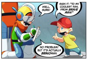 Bravoman A-Brave-Fan panel 2 by D-Gee