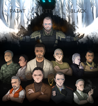 Black Ops villains by PrincessD-Bag