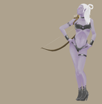 Drow WIP 2 by FetishFreak
