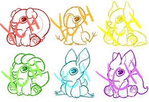 Smol YCHs [TEMPORARILY CLOSED] !!! +SPECIES ADDED by TrapPrince