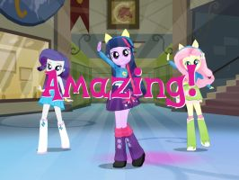 I played Equestria Girls on MLP:FiM iPad game by Magic-Kristina-KW