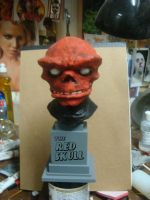 the red skull by MosesJaen