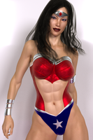 Wonder Woman Custom by hitmanwa