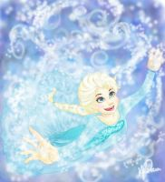 Frozen: Elsa the Snow Queen by Bella-Anima