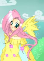 Just Fluttershy by Kanayan