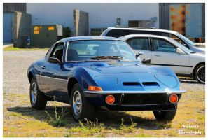A Blue Opel GT by TheMan268
