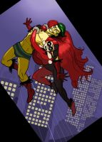 Creeper and Harley by SeanMcFarland