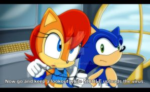 Sonic Freedom Fighters Screenshot by Sonicguru