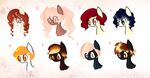 CLOSED Auction : Bubblehead Ponies { 2 } by Laurel3aby