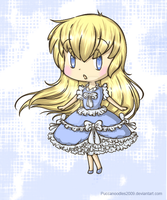 BlueBell Chibi by PuccaNoodles2009