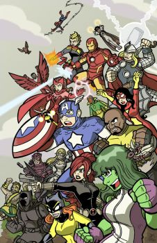 The Avengers by Toug-2000