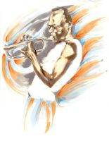 miles davis-unfinished by TheCoffeeBaron