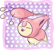 Pokeddexy Day 28: Skitty by StarlightFroggy