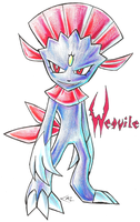 Weavile by Strixic