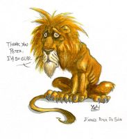 Lion by PdS by yoeh
