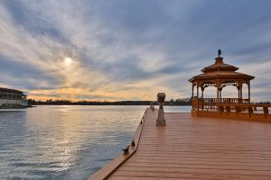 Alexandria Bay Sunset by somadjinn