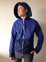 Luna Fleece Cosplay Hoodie - MLP (Front) by Weeaboo-Warehouse